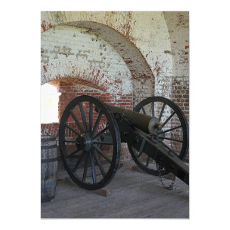 Cannon at Fort Pulaski Magnetic Card
