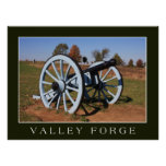 Cannon at Valley Forge Print