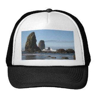 Cannon Beach and Haystack Rock wrapping paper Trucker Hat
