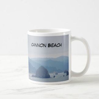 Cannon Beach Haystack in the mist Coffee Mug