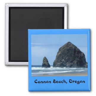 Cannon Beach, Oregon 2 Inch Square Magnet