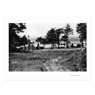 Cannon Beach, Oregon Arcadia Cottages Ocean Postcard