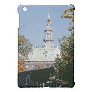 Cannon by historical building, Quebec, Canada iPad Mini Cases