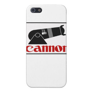 Cannon Case For iPhone SE/5/5s