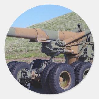 Cannon Classic Round Sticker