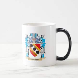 Cannon Coat of Arms - Family Crest 11 Oz Magic Heat Color-Changing Coffee Mug