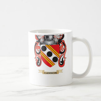 Cannon Coat of Arms (Family Crest) Classic White Coffee Mug