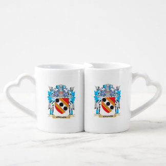 Cannon Coat of Arms - Family Crest Couples' Coffee Mug Set