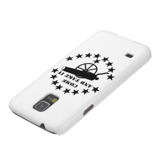 Cannon Come And Take It 2nd Amendment #2 Galaxy S5 Covers