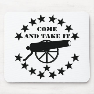 Cannon Come And Take It 2nd Amendment #2 Mouse Pad