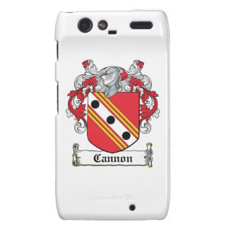 Cannon Family Crest Motorola Droid RAZR Case