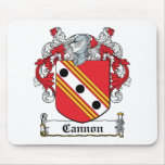 Cannon Family Crest Mouse Pads