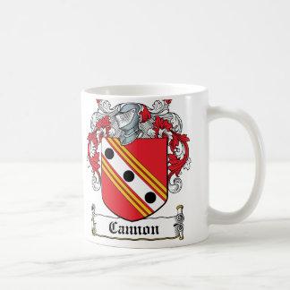 Cannon Family Crest Classic White Coffee Mug