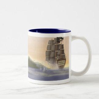 Cannon Fodder Two-Tone Coffee Mug