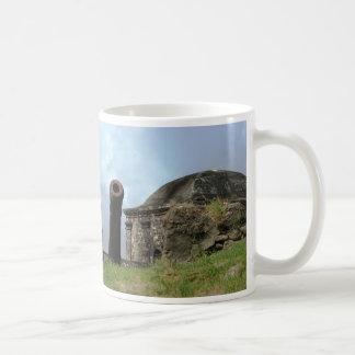 Cannon, Fuerte San Lorenzo, Rio Chagres, Panama Classic White Coffee Mug