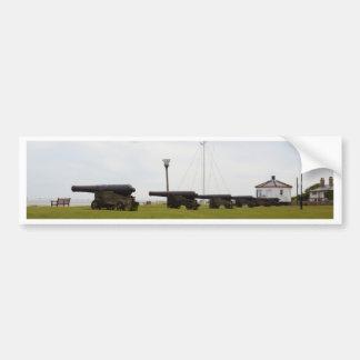Cannon Guarding Suffolk Bumper Sticker