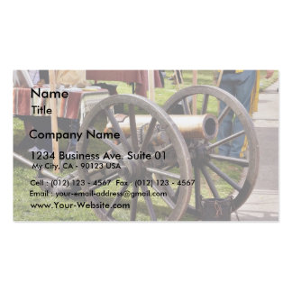 Cannon In Old Town San Diego Business Card Templates