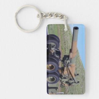 Cannon Rectangular Acrylic Keychains