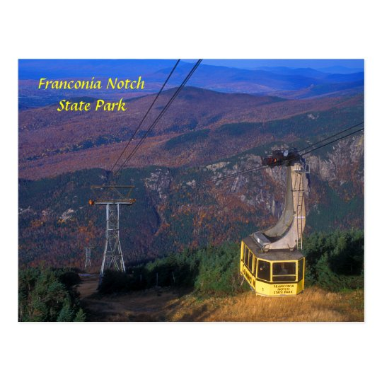 Cannon Mountain Tram, Franconia Notch Postcard