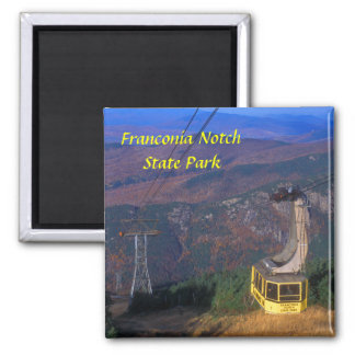 Cannon Mountain Tram Franconia Notch State Park Refrigerator Magnet