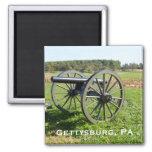 Cannon on the Gettysburg Battlefield Magnet