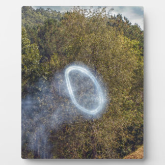Cannon Smoke Ring Plaque