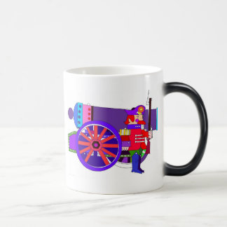 CANNON & SOLDIER 11 OZ MAGIC HEAT Color-Changing COFFEE MUG