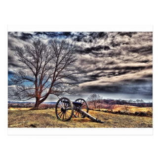 Cannon waiting on cemetery Hill Postcard