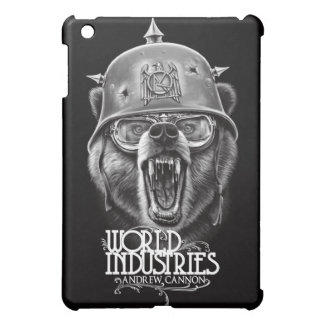 Cannon War Bear iPad Mini Covers