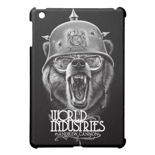 Cannon War Bear iPad Mini Covers