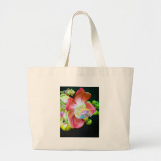 Cannonball Flower Canvas Bag