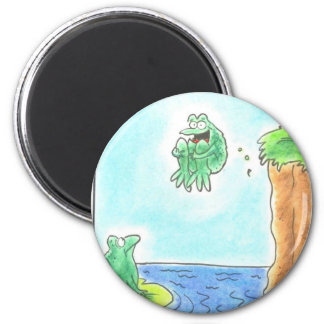 Cannonball Frog Magnet