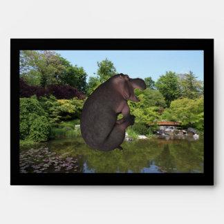 Cannonball Hippo Envelope