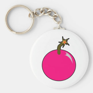 Cannonball Round Shot Bomb Cannon Ball Pirate Keychain