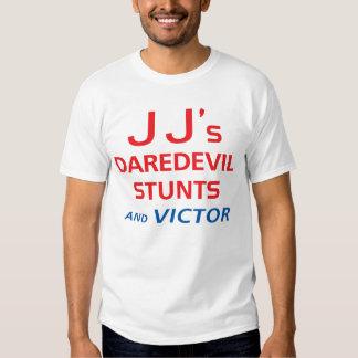 Cannonball Run JJ's Daredevil Stunts t-shirt