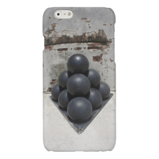 Cannonballs Glossy iPhone 6 Case