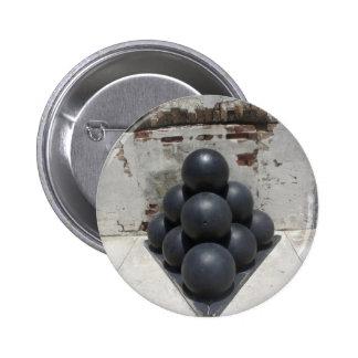 Cannonballs Pinback Button