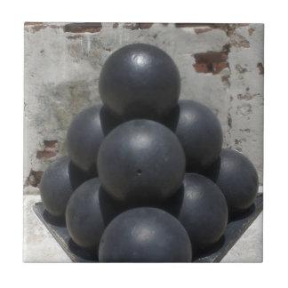 Cannonballs Tile