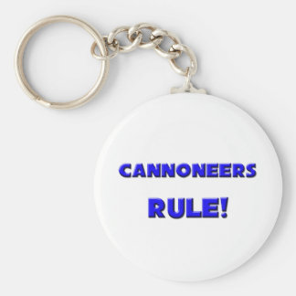 Cannoneers Rule! Basic Round Button Keychain