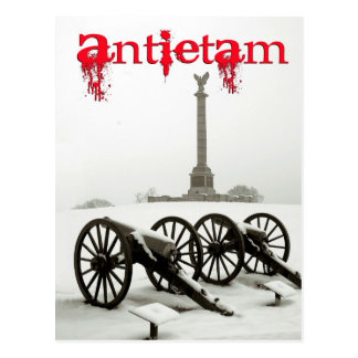 Cannons at Antietam National Battlefield, MA Postcard