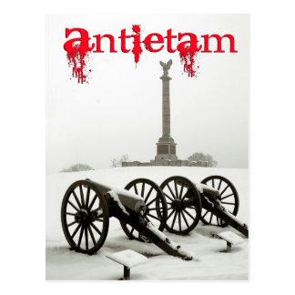 Cannons at Antietam National Battlefield, MA Postcard