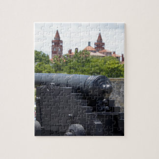 Cannons at Castillo San Marcos Jigsaw Puzzle