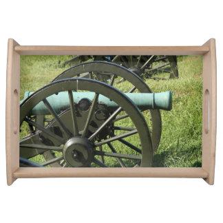 Cannons of Vicksburg Food Trays