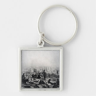 Cannons on the Buttes-Montmartre Key Chain