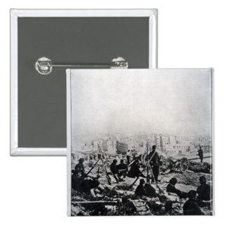 Cannons on the Buttes-Montmartre Pinback Button