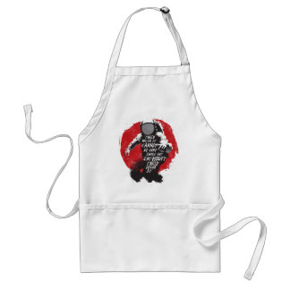 Cannot Be Done Adult Apron