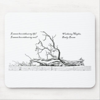 Cannot Live Without My Soul Wuthering Heights Mouse Pad
