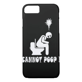 cannot poop! iPhone 8/7 case