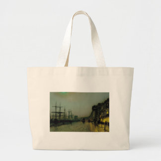 Canny Glasgow by John Atkinson Grimshaw Large Tote Bag