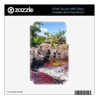 CANO CRISTALES 2 iPod TOUCH 4G SKIN